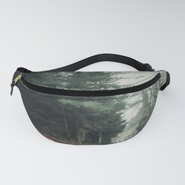 rainy day in the woods Fanny Pack
