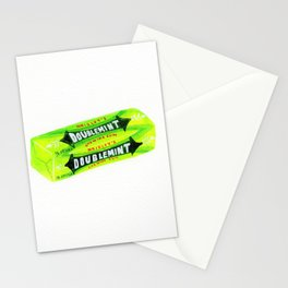 Green gum Stationery Cards