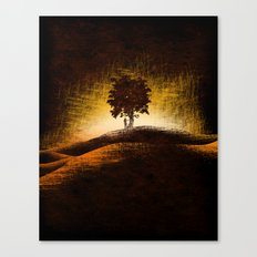 i love trees Canvas Print