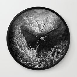 Gustave Doré's The Last Judgement Wall Clock