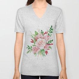 Rose Garden Unisex V-Neck