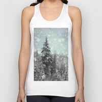 snow white Tank Tops featuring Snow by Pure Nature Photos