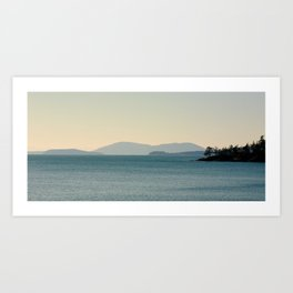 Teddy Bear Cove x Bellingham Art Print
