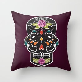 Two Sides of Lonely (1) Throw Pillow