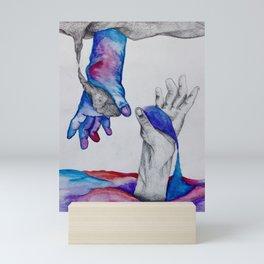 Similar Struggle Mini Art Print