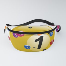 billiard ball ball game Fanny Pack