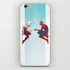 Worlds Collide iPhone Skin