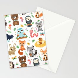 Woodland Animal Stationery Cards
