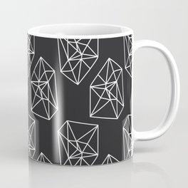 Almost Geometric Jewels Pattern #black Coffee Mug