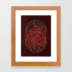 Seal of two worlds Framed Art Print