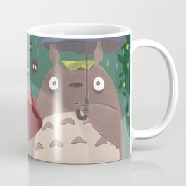 Waiting Neko Bus Coffee Mug
