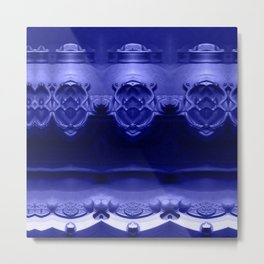 The future was already here! Ultraviolet Metal Print