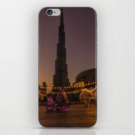 Burj Khalifa sunset iPhone Skin
