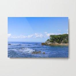 Haiti Oceanscape Metal Print