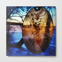 Reflection in Time Metal Print