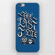 The Last J. Die iPhone Skin