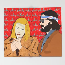 MARGOT AND RICHIE Throw Blanket