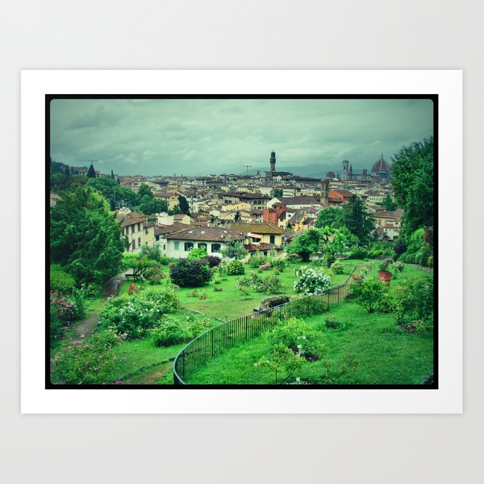 View of Florence, Italy  Art Print