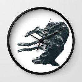 Dog-Tired Wall Clock