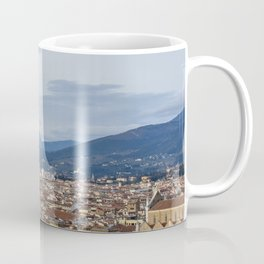 Florence Skyline from Piazza Michelangelo Coffee Mug