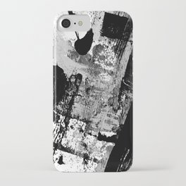 Black and White 01013 iPhone Case