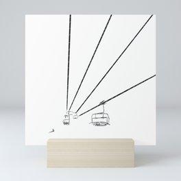 Sky lift Mini Art Print