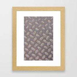 Metal sheet Framed Art Print