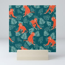 Monkey Forest Mini Art Print