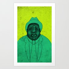 THE ILLEST Art Print