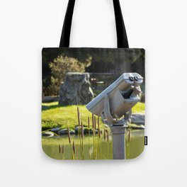 Pondside Panoramic Visor Tote Bag