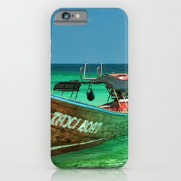 Island Taxi iPhone Case