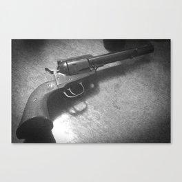 Waiting Revolver Canvas Print