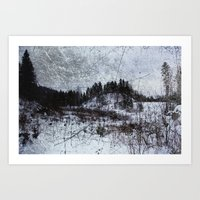 norway Art Prints featuring Norway by Tora Wolff