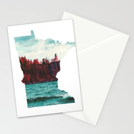 Minnesota-Split Rock Lighthouse at Lake Superior Stationery Cards