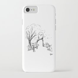 A Windy Day iPhone Case