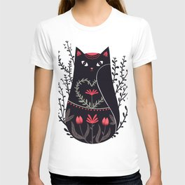 Russian kitty T-shirt