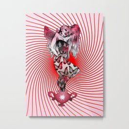 Swinging Pixie Metal Print