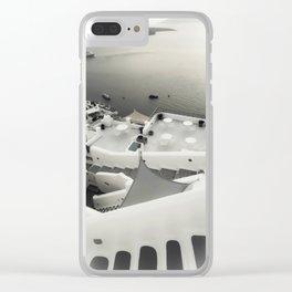 dreaming Fira Clear iPhone Case