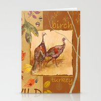 turkey Stationery Cards featuring Wild Turkey by Edith Jackson-Designs