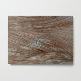 Where the red fur grows Metal Print
