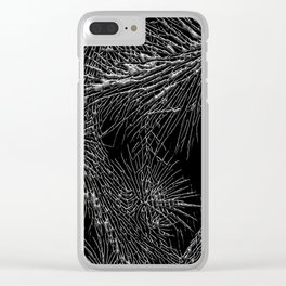 Joshua Tree Silver by CREYES Clear iPhone Case