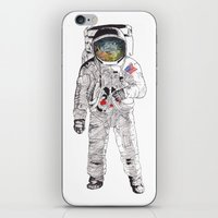 astronaut iPhone & iPod Skins featuring Astronaut by James White