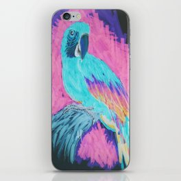 Macaw Parrot Inverted  iPhone Skin