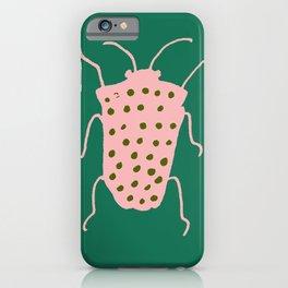 Beetle green iPhone Case