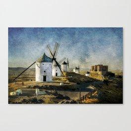 Windmills of Castilla la Mancha Canvas Print