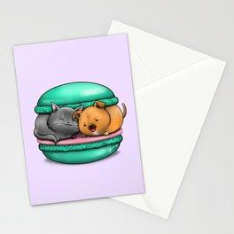 Macaron Cuddles Stationery Cards