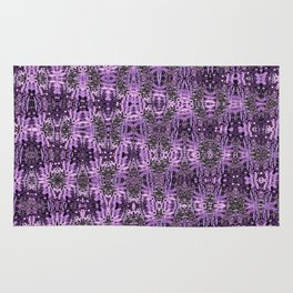 Purple Mosaic Rug
