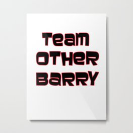 Team Other Barry - Archer Metal Print