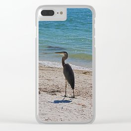 Vague Visionary Clear iPhone Case
