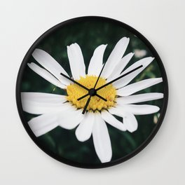 Scottish Flowers Wall Clock